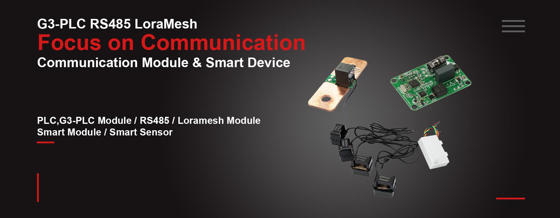 G3-PLC module, plc module, RS485 Sensor, Lora sensor Loramesh Sensor