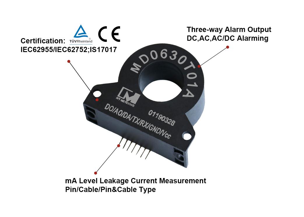 Uart Modbus Protocol Sensor Current with PIN