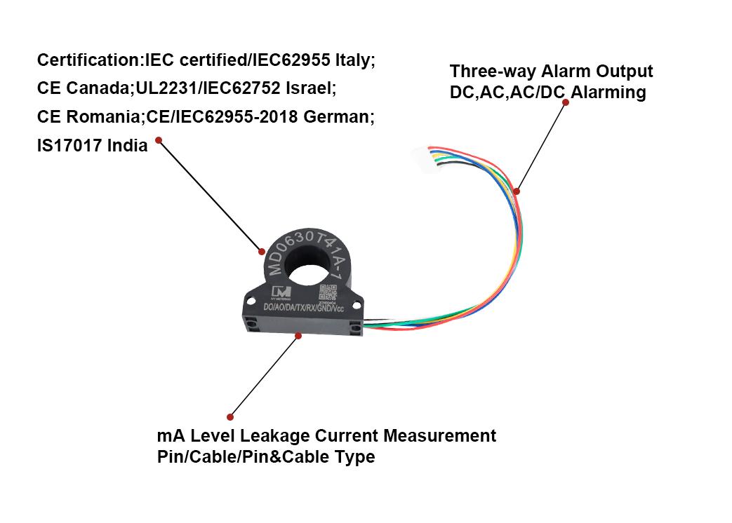IEC62955 Certified Leakage Detection Alarm System Leak Sensor for Europen