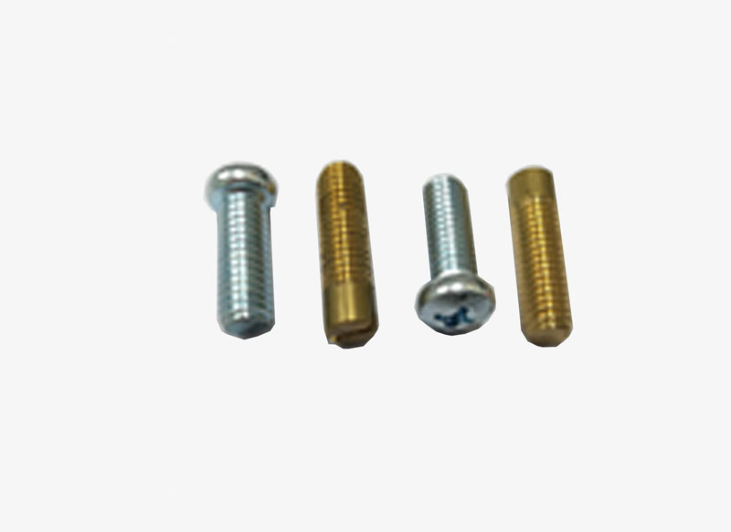 Brass Copper Silver Plating Customized Screws Terminal