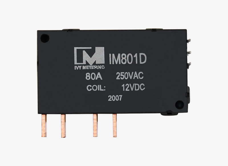 IM801D Bistable 12V Electronic Component Relay 80A Latching DC Relay