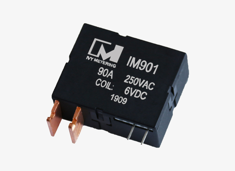 IM901 90A 12VDC 24VDC 250VAC Single Dual Coil Latching Bistable Relay for Industrial Equipment