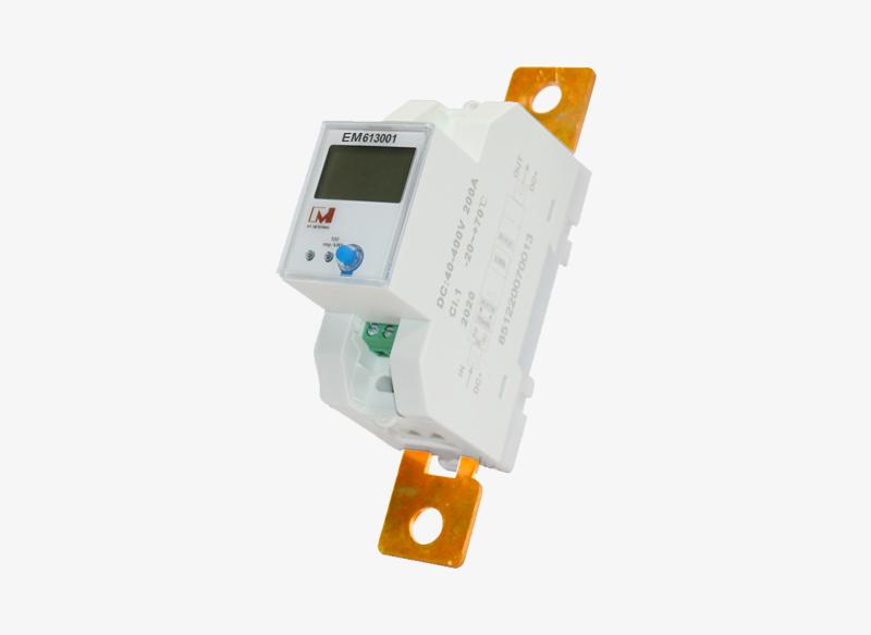 Single-phase DC rail meter EM613001