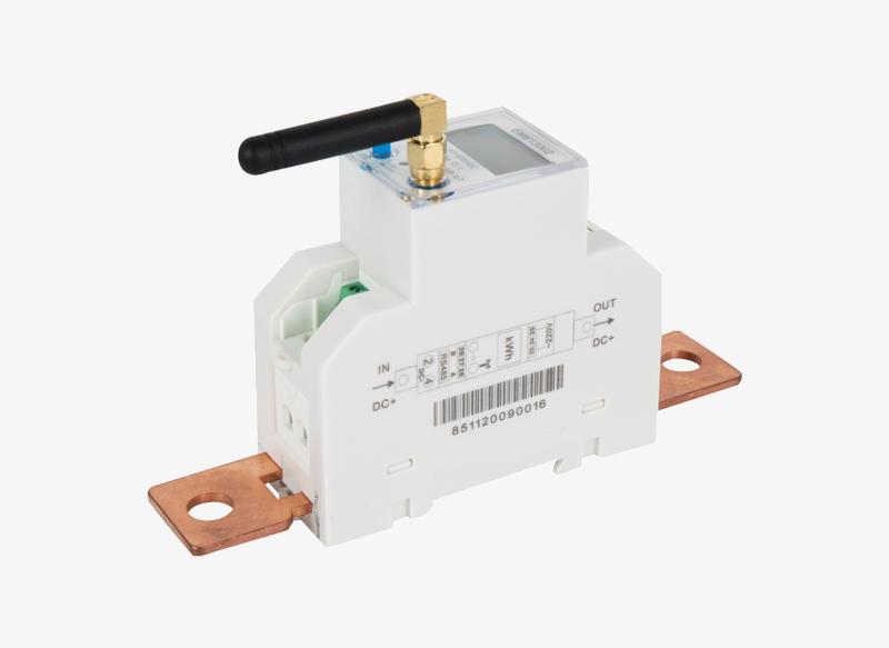 EM613002 Shunt Sampling Din Rail RS485 NB-IOT DC Electricity Meter for Solar System