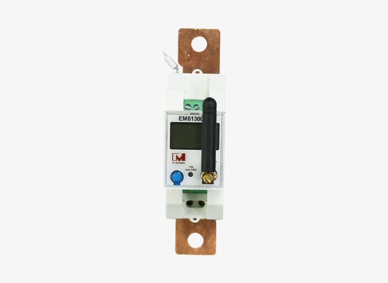 EM613002 Din Rail Mounting 80A RS485 NB-IOT Wireless DC Energy Meter for PV System