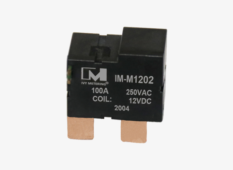 IM-M1202 UC3 Approved 12V 24VDC 250VAC 100A Single Phase PCB Latching Relay for Smart Meter