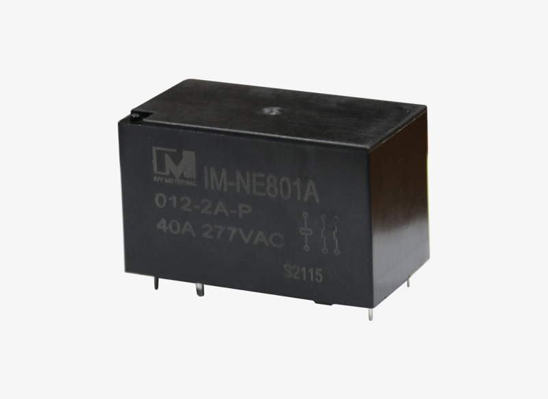 IM-NE801 High Insulation 40A 24VDC Two-Pole Solar PV Power Relay with 3mm Contact Gap
