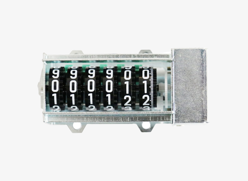 800BC06M Cheap Wheel Display 6digits Mechanical Counter for Energy Meter