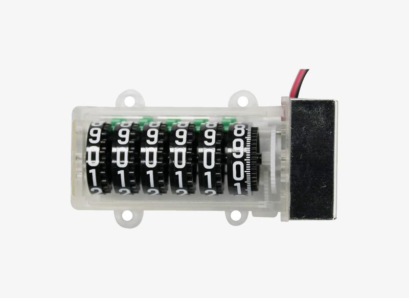800SC06P Cheap 6 Digits 200:1 Mechanical Counter Stepper Motor Counter for Energy Meter