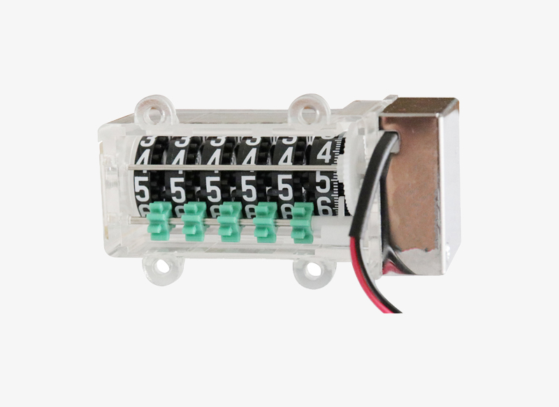 800SC06P Cheap Miniature Type Rate 200:1 6 Digit Mechanical Meter Counter Price