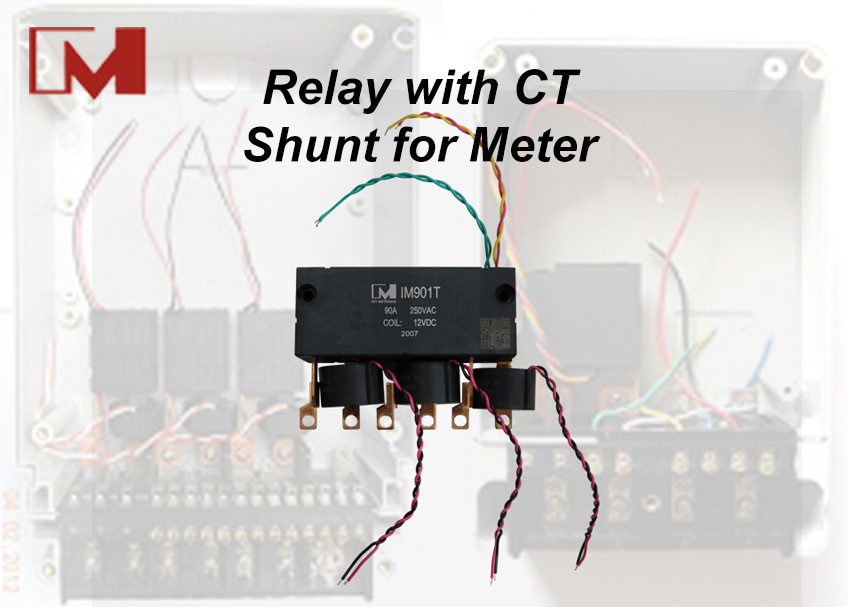 Relay with CT&Shunt