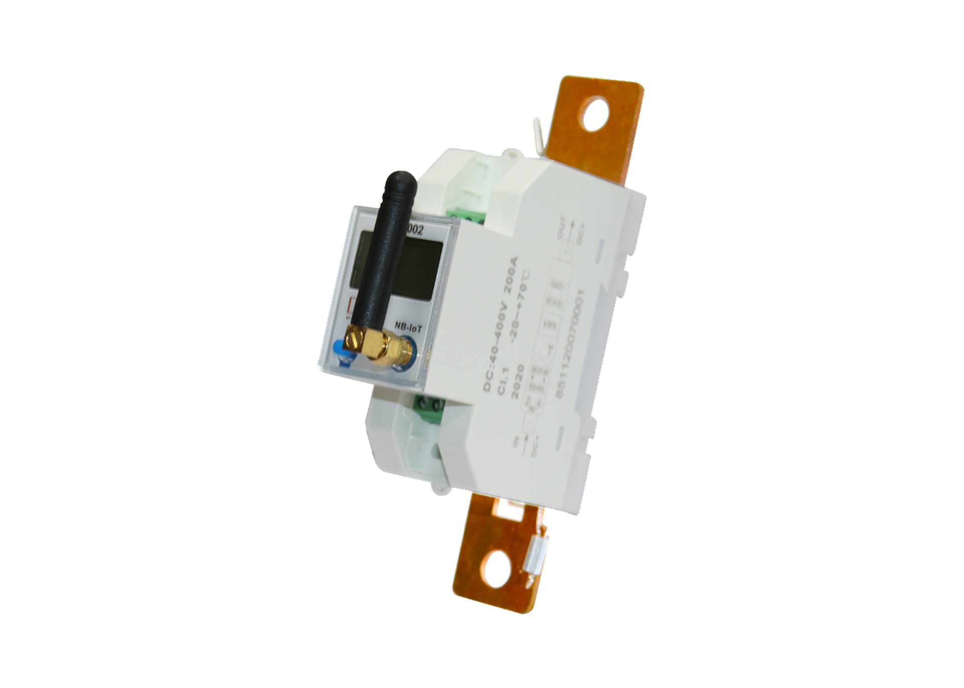 EM613002 Din-rail RS485 NB-IOT 48V Wireless Battery Monitor DC Meter for Photovoltaic System