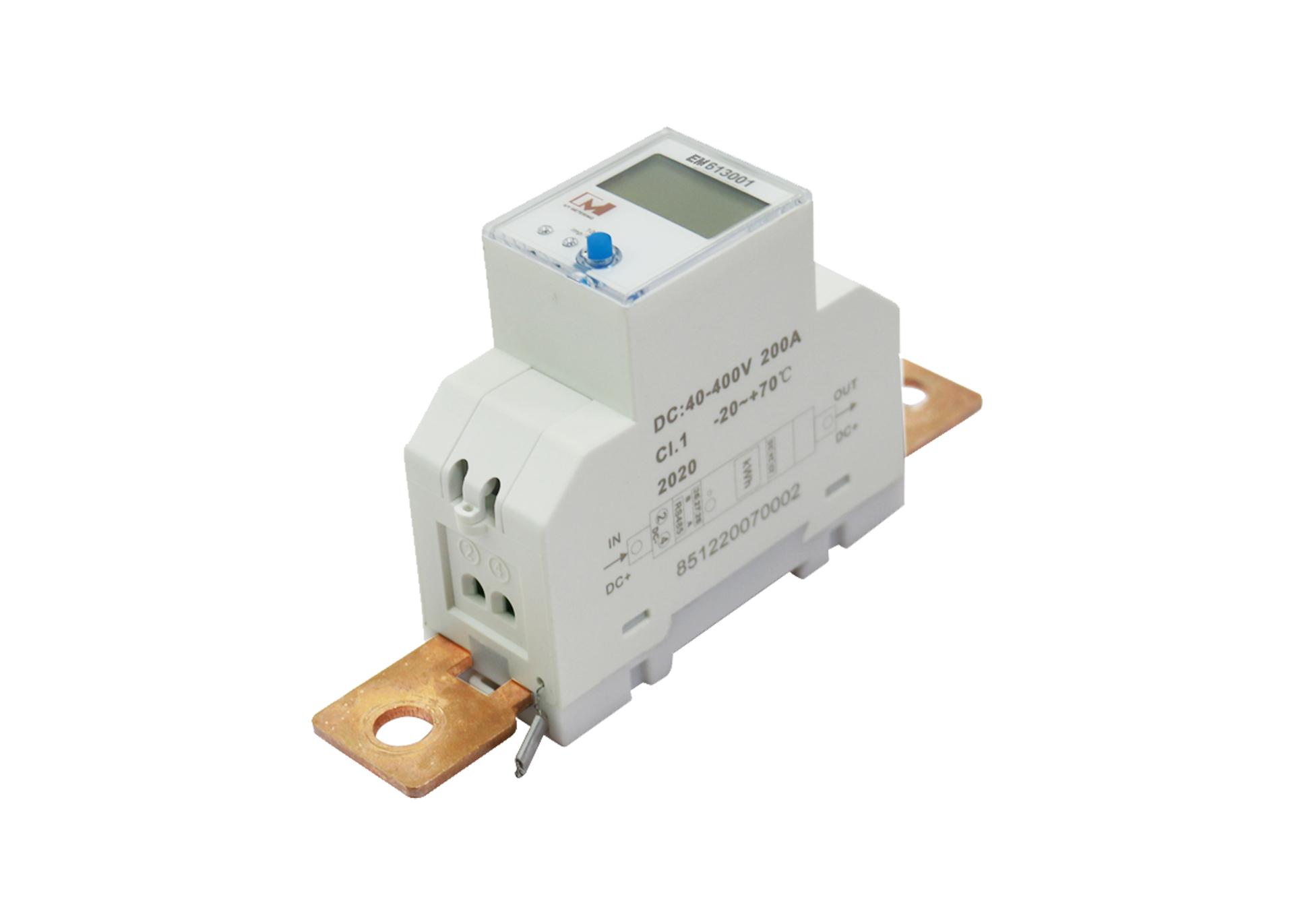 EM613001 LCD Display Digital RS485 DC Multifunction Battery Monitor Solar Energy Meter