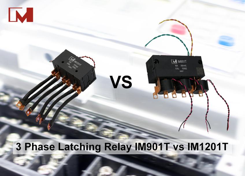 3 Phase Latching Relay IM901T vs IM1201T