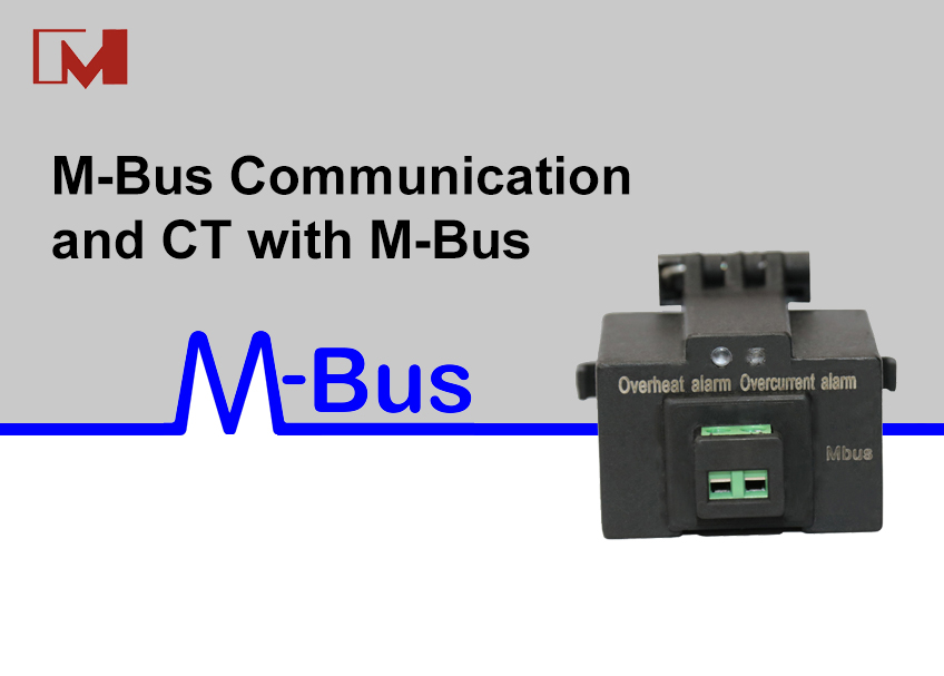 M-Bus communication and CT with M-Bus