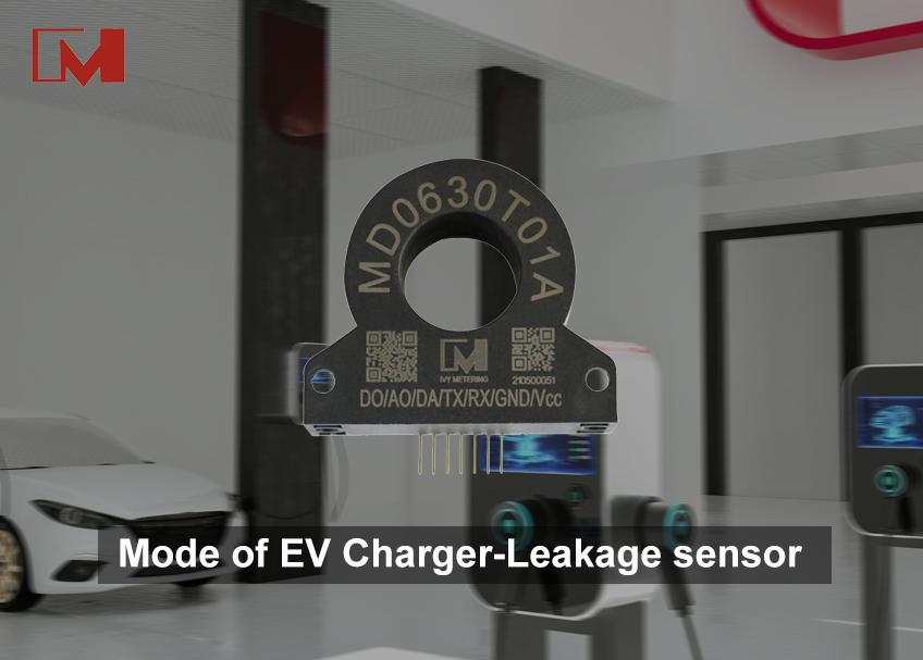 Mode of EV Charger-Leakage sensor